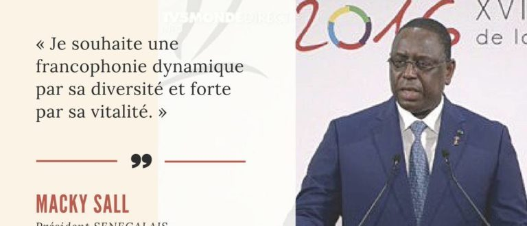 Article : Macky Sall durant son allocution