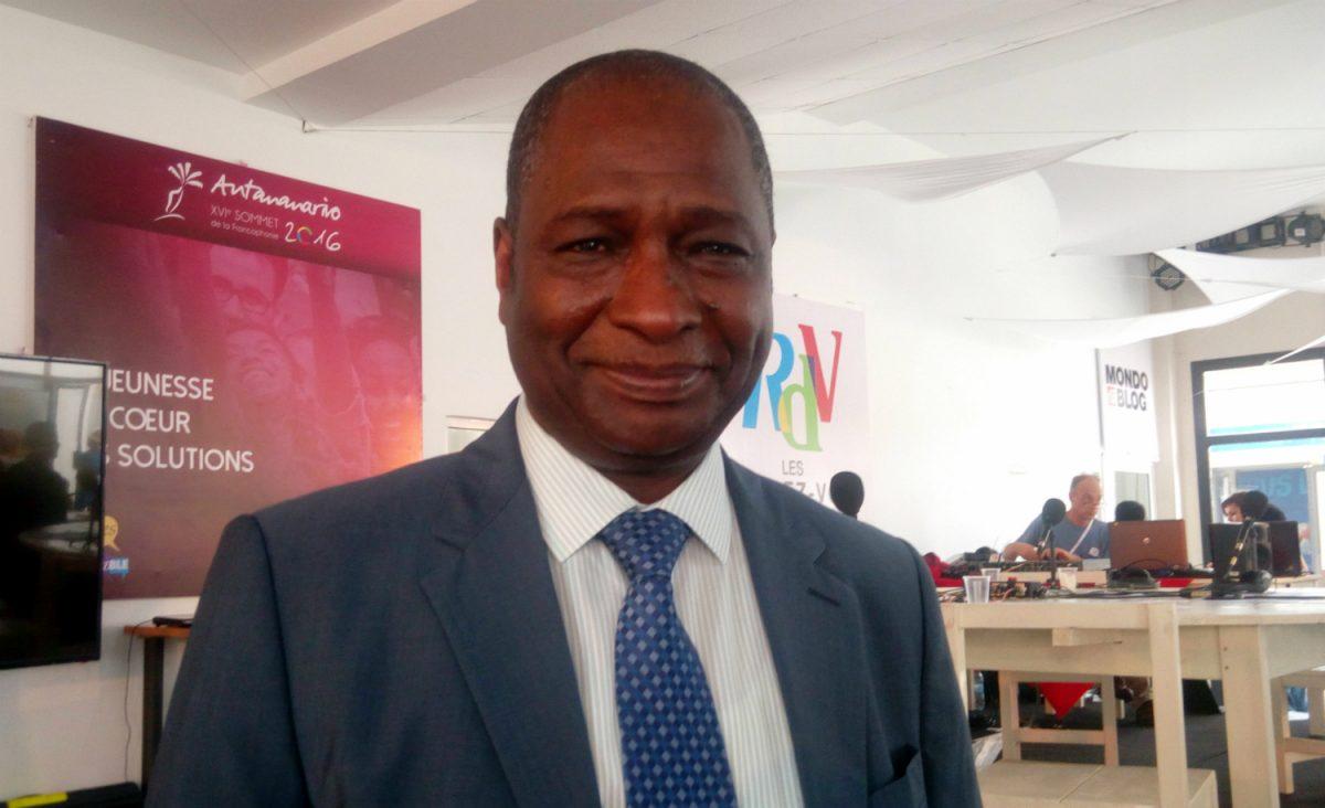 Adama Ouane, administrateur de l'OIF